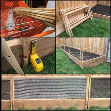 No Critters Allowed Building A Removable 7 Panel 48 W X16 H Vegetable Garden Fence For 36x4ft Bed Vegetablegardening