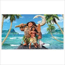 Disney Moana Block Giant Wall Art Poster