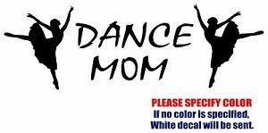 Dance Mom 3 Decal Sticker Jdm Funny Animal Vinyl Car Window Bumper Laptop 7 Ebay