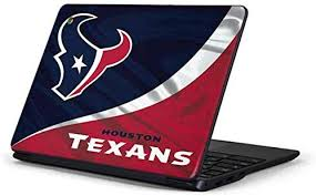 Amazon Com Skinit Decal Laptop Skin For Chromebook 3 11 6in 500c13 K01 Officially Licensed Nfl Houston Texans Design Electronics