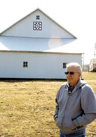 Barn quilt something to do in winter for county man | Huntington County Tab