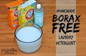 homemade laundry detergent borax free