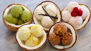 dairy free coconut homemade ice cream