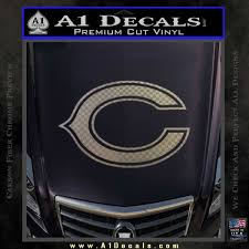 Chicago Bears C Decal Sticker A1 Decals