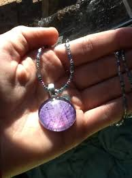 how to make glass pendant jewelry