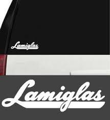 Lamiglas Fishing Rod Sticker Vinyl Decal Truck Boat Window Tackle White 8 Inch Ebay