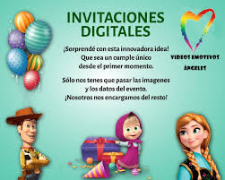 Toy Story 4 Video Invitacion Para Cumpleanos 299 00 En Mercado