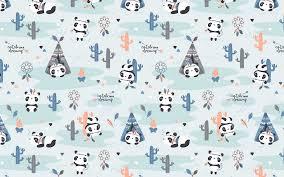 wallpaper texture pattern panda