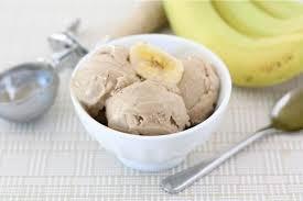 banana ice cream with peanut er