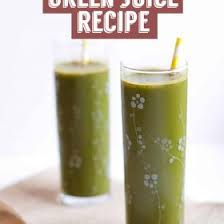 my favorite green juice recipe food