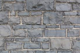 Modern Concrete Brick Wall Background Texture Fence Design Photo Pathway