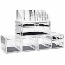 acrylic cosmetic storage drawers