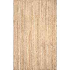 nuloom rigo chunky loop jute tan 8 ft