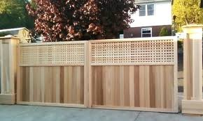 cedar gate designs custom design wooden