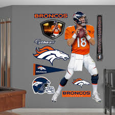Shop Fathead Peyton Manning Wall Decals Overstock 9126503