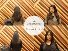 my hair smoothening experience at