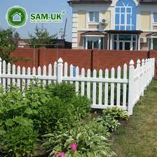 China 4 Foot Scalloped Vinyl Picket Fence On Hill China White Vinyl Picket Fence White Vinyl Picket Fencing
