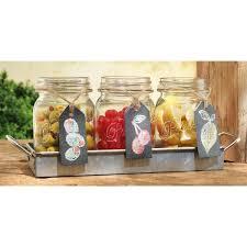 galvanized finish mason jar flatware