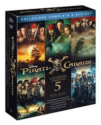 Pirati dei Caraibi Collection (5 Blu-Ray): Amazon.it: Disney ...
