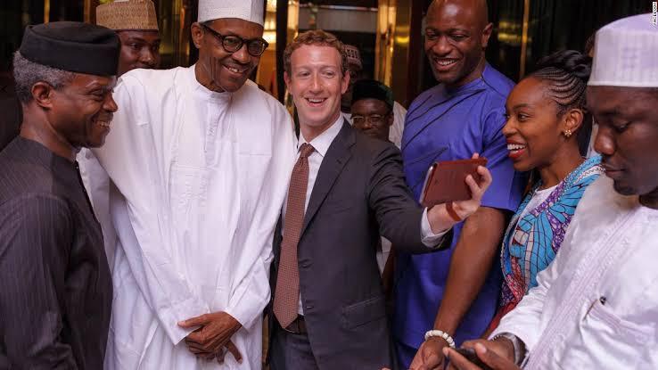 "Image result for zuckerberg in nigeria"""