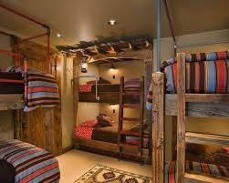 Fish Camp Bedroom Design Ideas Pictures Remodel And Decor Rustic Kids Rooms Bunk Room Dorm Room Designs