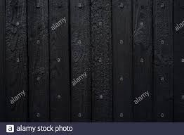 Black Wooden Fence Panel High Resolution Stock Photography And Images Alamy