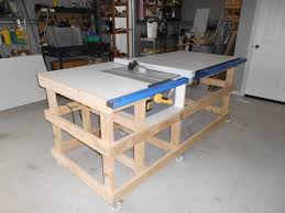 Table Saw Work Station With Homemade T Square Fence Part 1 By Gcm Lumberjocks Com Woodworking Community