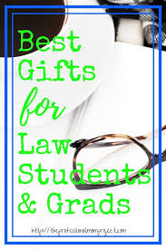 best gifts for law students and law