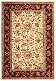 x 12 rug in ivory and red safavieh