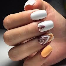 trendy white nail design ideas the