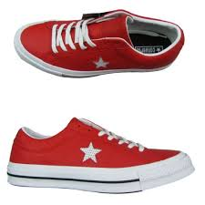 converse one star ox red leather