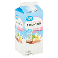 unsweetened vanilla almondmilk