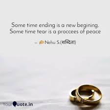 some time ending is a new quotes writings by neha sarita