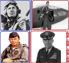 Chuck Yeager (1923- ) Yeager was born in Myra, West Virginia and his family  later moved to Hamlin, WV. He was … | West virginia history, Wyoming  county, Appalachia