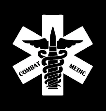 Combat Medic Military Window Decal Stickers Custom Sticker Shop