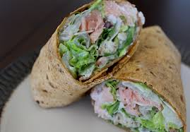 Healthy Salmon Caesar Salad (OR Wrap ...