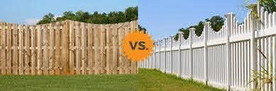 2019 Vinyl Vs Wood Fence Guide Review Costs Pros Cons Homeadvisor