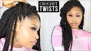 crochet senegalese twists no leave out