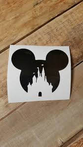Mickey Castle Decal Yeti Cup Decal Decals Vinyl Decals Car Decals Vinyl Decals Decals For Yeti Cups Car Decals Vinyl