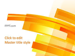 background yellow powerpoint template