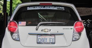 Rear Window Decal Chevy Spark Ev Forum
