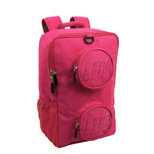 LEGO® Brick Backpack – Pink 5005534   Miscellaneous
