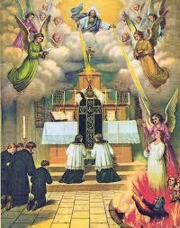 Novembro – Mês de socorrer as Almas do Purgatório – formatio virginis
