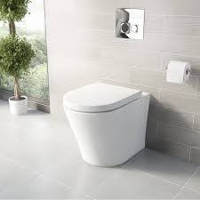 options for back to wall toilets