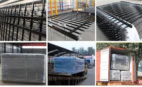 Powder Coated Tubular Steel Fence For Sale Steel Tubular Fence Manufacturer From China 105988830