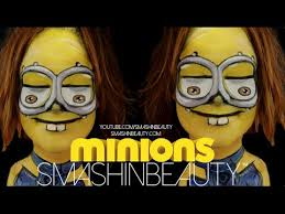 minions makeup face paint