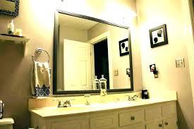 diy bathroom mirror frame tech
