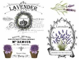 Vintage French Provence Lavender Furniture Transfers Waterslide Decals Mis595 Ebay