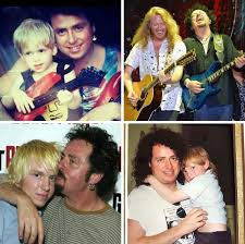 """𝙒𝙚𝙣𝙙𝙮 𝙅𝙚𝙣𝙠𝙞𝙣𝙨 on Twitter: """"Happy & Healthy Monday Everyone 🙏.  This is definite ❤️ btween Pop & Son.👇🎸. 📷 by @TrevLukather &  Antonella Conte… """""""