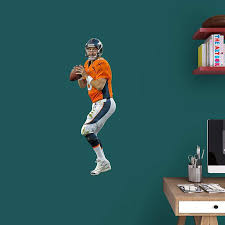 Junior Wall Decal Peyton Manning 40x27 Nfl Denver Broncos Graphics Football 1801693983